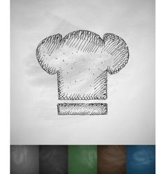 toques icon Hand drawn vector image vector image