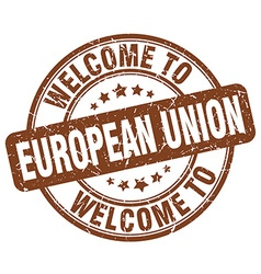 Welcome to european union vector