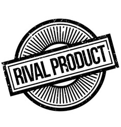 Rival product rubber stamp vector