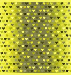Heart pattern seamless sparkling background vector
