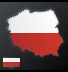 Poland map vector