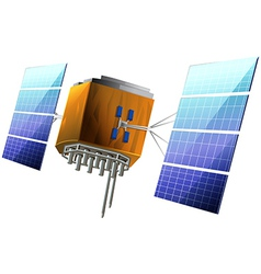 Artificial satellite vector
