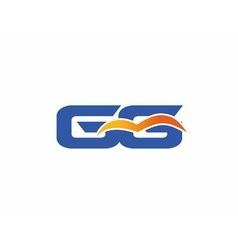 Gg letter logo vector
