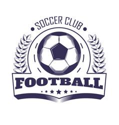 soccer club or football team league vector image