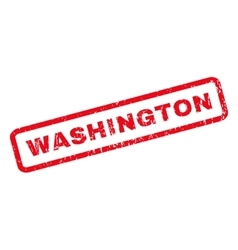 Washington rubber stamp vector