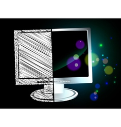 hand verse digital vector image