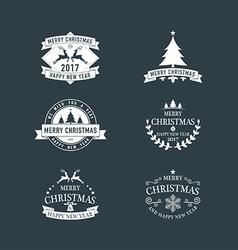 Christmas 02 02 vector image vector image