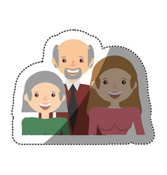 People family members lovely vector