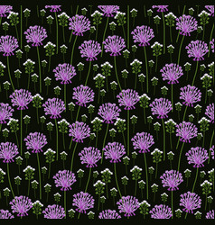 seamless onion pattern vector image vector image