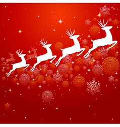 Vintage Christmas elements background design EPS10 vector image vector image