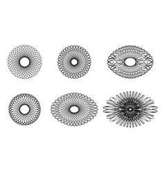 Spirograph elements3 vector image