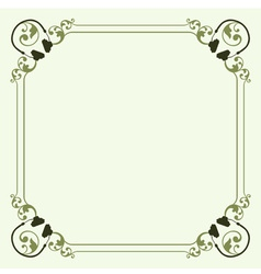 Decorative headset frame vector image