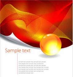 abstract grahic design vector image vector image