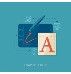 Artistic graphic design and concept vector