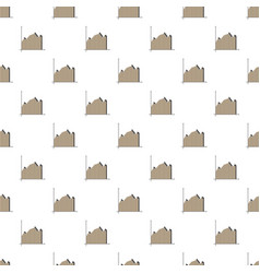 Gray business graph pattern vector