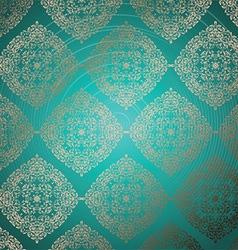 luxury pattern 2907 vector image vector image