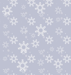 Ornament made of snowflakes vector