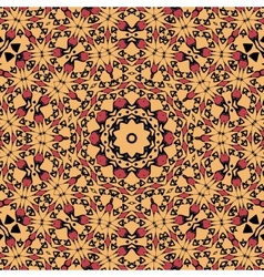 Seamless pattern Oriental unusual endless vector image