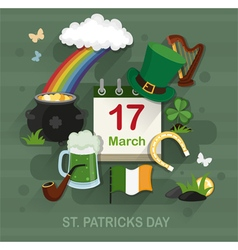 St patricks day concept vector