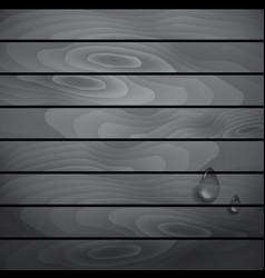 Blackwhite wooden texture vector image