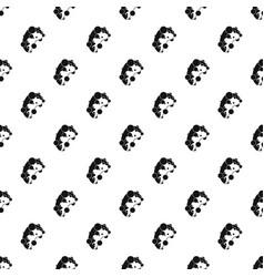 cell virus pattern vector image