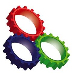 gear1 2 v vector image vector image