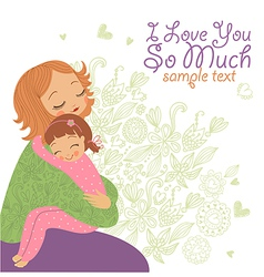 love you so much vector image vector image