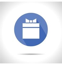 Present icon Eps10 vector image vector image