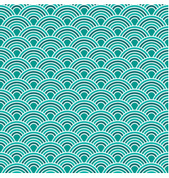 Abstract waves simple seamless blue tone pattern vector