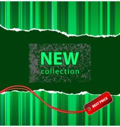 fashion retail banner vector image