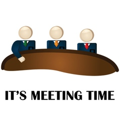 Meeting time vector