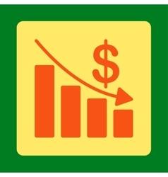 Recession Icon vector image