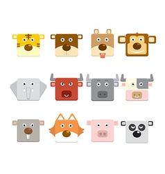 Animal face vector