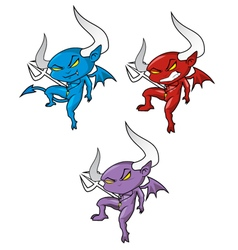 Devils set vector