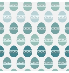 Abstract easter eggs pattern vector image