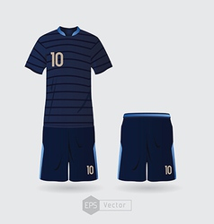 France team uniform 02 vector image