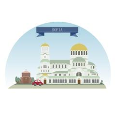 Sofia vector image