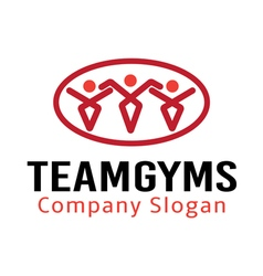 Team gyms design vector