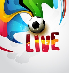 football template vector image