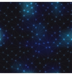 Pattern of space night sky and abstract geometric vector