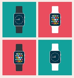 Smart watch vector