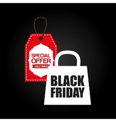 Black friday deals vector