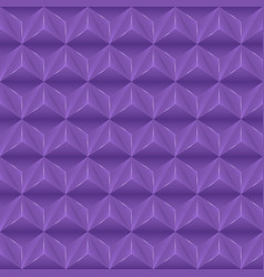 Abstract background with violet pyramids vector