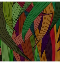 Abstract colored wave pattern vector