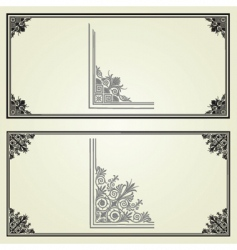 Border elements vector