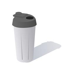 Cartoon Protein Shaker vector image