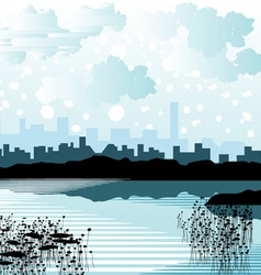 City background vector
