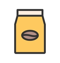 Coffee packets vector