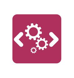 Computer code programming vector