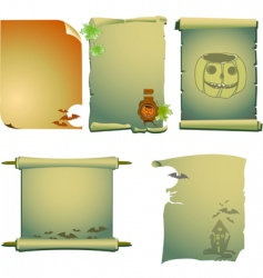 Halloween invites vector image vector image